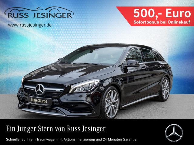 Mercedes-Benz CLA 45 4M SB + NAVIGATION + LED + HARMAN KARDON, Jahr 2016, Benzin