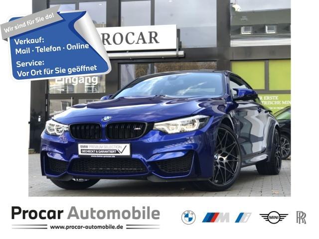 BMW M4 Coupe Competition NAVI RFK HUD Kein MIETER!, Jahr 2019, Benzin