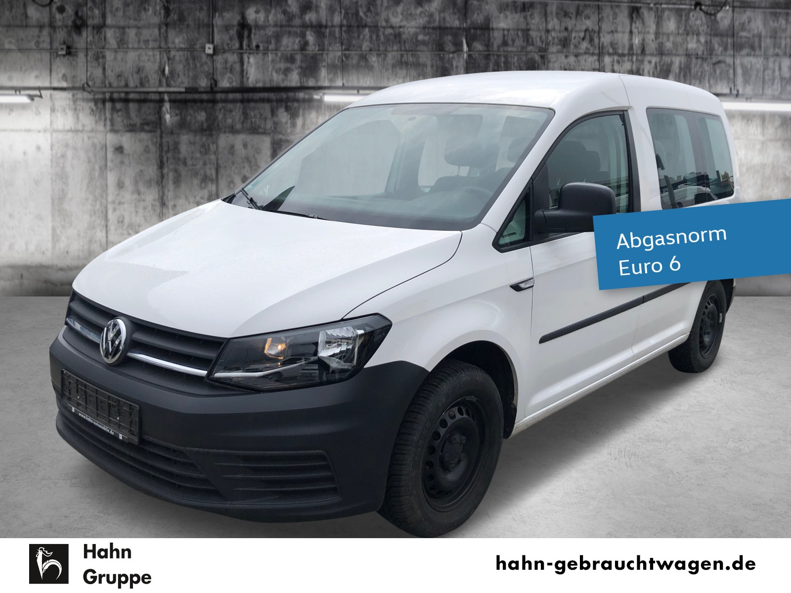 Volkswagen Caddy Kombi EcoProfi BMT Klima AHK Tempomat, Jahr 2017, Benzin