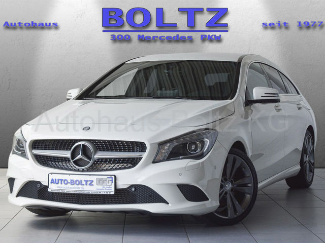 Mercedes-Benz CLA 200 SB Urban Navi el.Klappe ParkAs. Sitzhz., Jahr 2016, Benzin
