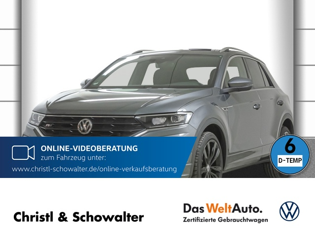 Volkswagen T-Roc R-Line Sport 2.0 TDI DSG Navi LED ACC Klima, Jahr 2020, Diesel