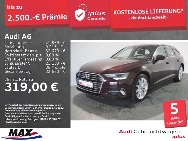 Audi A6 Avant 40 TDI SPORT QUATTRO LED+NAVI+KAMERA+VC, Jahr 2020, Diesel