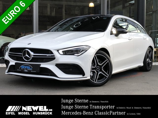 Mercedes-Benz CLA 35 AMG 4M SB PANORAMA*MULTIBEAM*NIGHT*MBUX*, Jahr 2020, Benzin