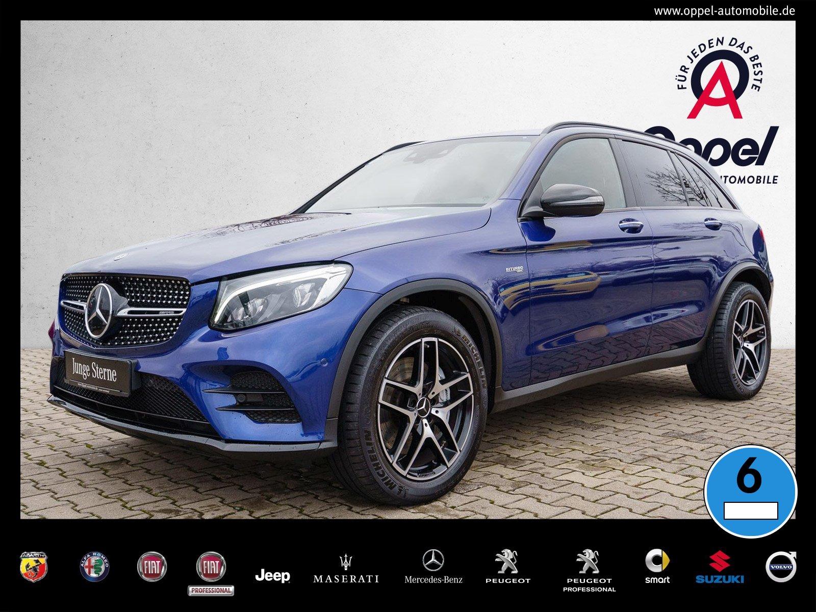 Mercedes-Benz GLC 43 AMG +COMAND+DISTRONIC+KAMERA+AIRMATIC+PTS, Jahr 2018, Benzin
