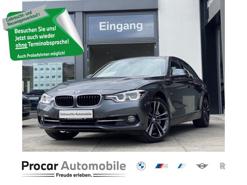 BMW 340i xDrive Sport Line HuD AHK DA 360° Kamera LED, Jahr 2018, Benzin