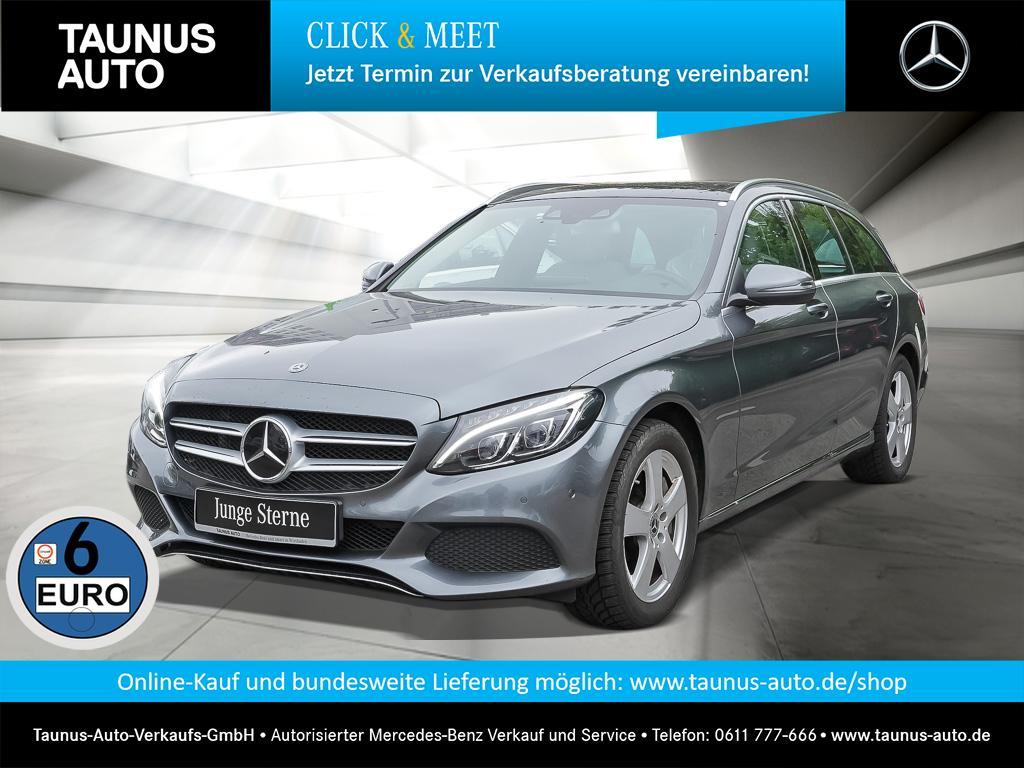 Mercedes-Benz C 300 T AVANTGARDE PANO COMAND AIRMATIC DISTR., Jahr 2018, Benzin