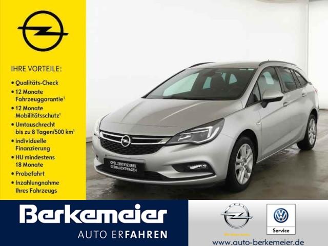 Opel Astra ST 1.6 Navi/Sitzheiz/Parkpilot/Klimaautomatik, Jahr 2018, Diesel
