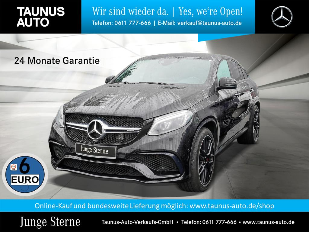 Mercedes-Benz GLE 63 AMG S COUPE PANORAMA NIGHT ACTIVE-CURVE, Jahr 2017, Benzin
