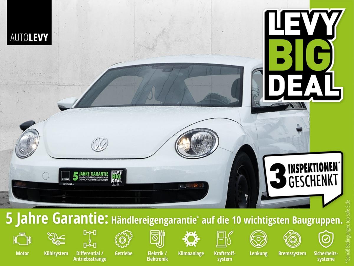 Volkswagen Beetle 1.2 TSI BlueMotion *KLIMA*TEMPOMAT*WKR*, Jahr 2016, Benzin