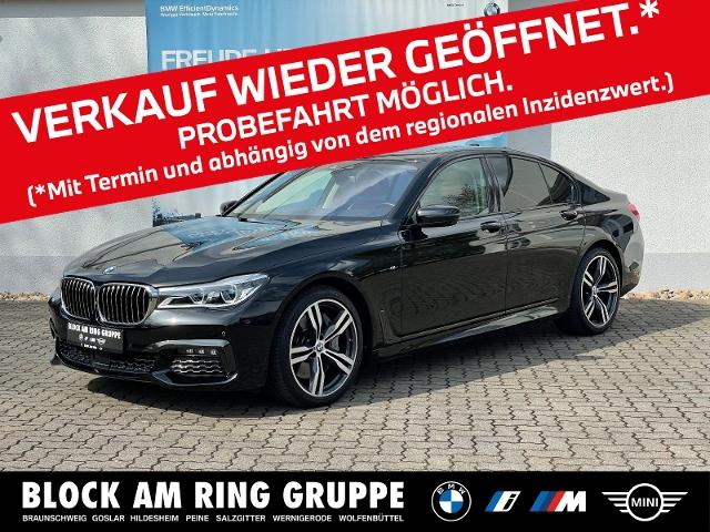 BMW 750i xDrive Limousine M Sport Laser 360 GSD HUD, Jahr 2018, Benzin