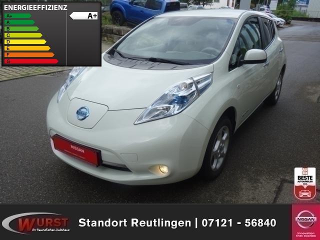 Nissan Leaf Basis 24kWh Solarspoiler Klima CD-Radio mit Bluetooth Freisprecheinr. Servolenk. ZV, Jahr 2012, Elektro