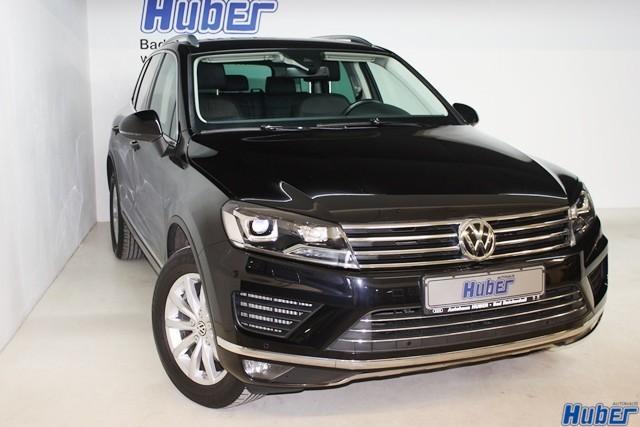 Volkswagen Touareg 3.0 V6 TDI EU6 Leder AHK Navi Xenon, Jahr 2015, Diesel