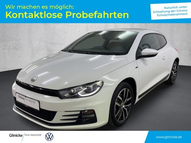 Volkswagen Scirocco ''Allstar'' 1.4 TSI Bi-Xenon Navi Pure White LM 17'' PDC vo/hi, Jahr 2017, Benzin