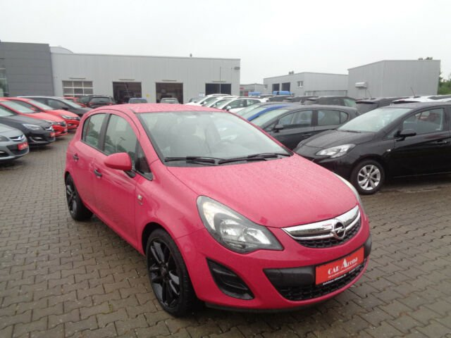 Opel Corsa 1.4 Active *Sonderlackierung*Tempomat*, Jahr 2013, Benzin