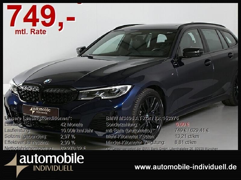 BMW M340d Aut. xDr Standh ACC HuD LiveCockpit AHK, Jahr 2020, Diesel