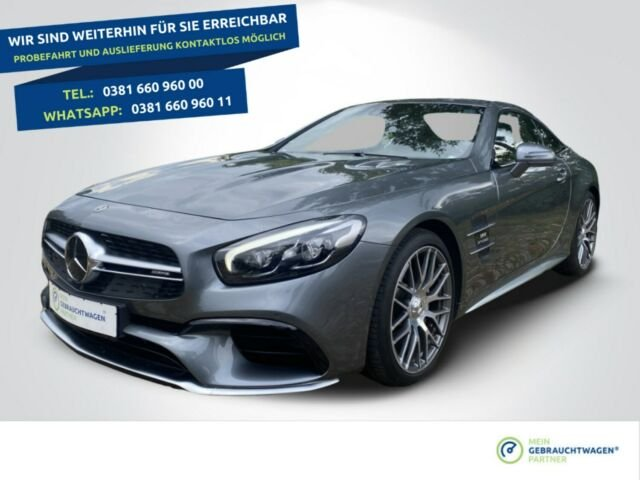 Mercedes-Benz SL 63 AMG V8+LED+Bang & Olufsen, Jahr 2019, Benzin