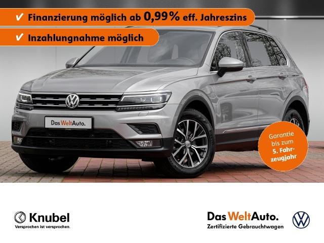 Volkswagen Tiguan Comfortline 2.0 TDI AHK HeadUp LED Fahras, Jahr 2020, Diesel
