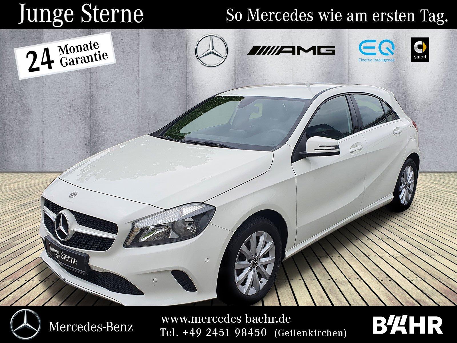 Mercedes-Benz A 160 d Style/Navi/KEYLESSGO Start-Funktion/R-CD, Jahr 2018, Diesel