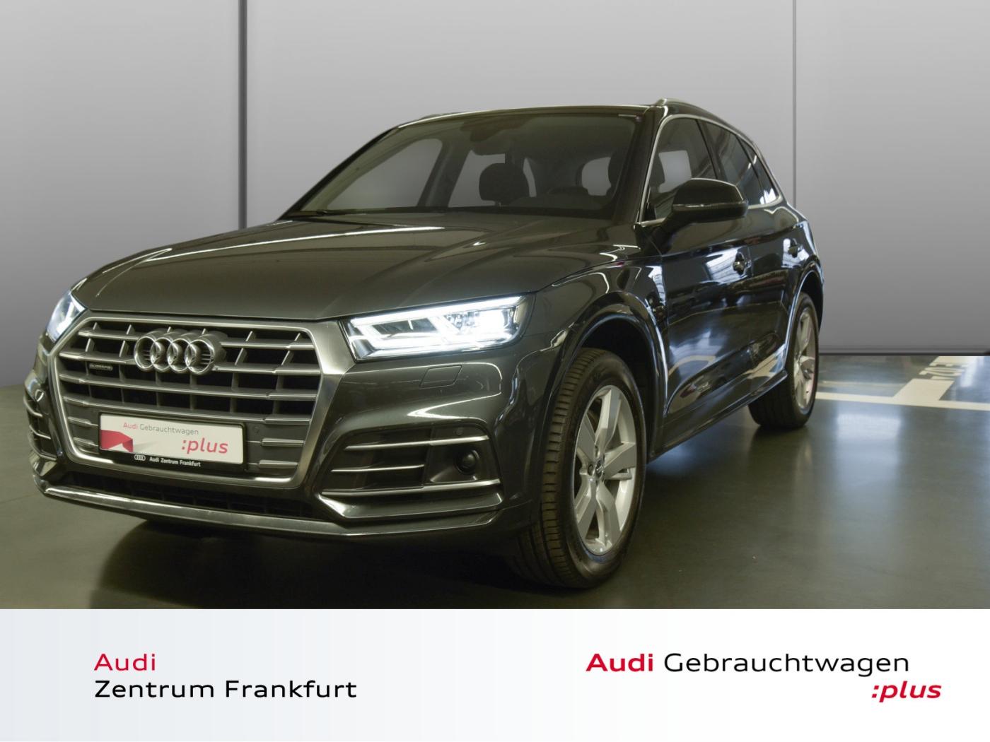 Audi Q5 2.0 TDI quattro S tronic S line LED Navi PDC, Jahr 2018, Diesel