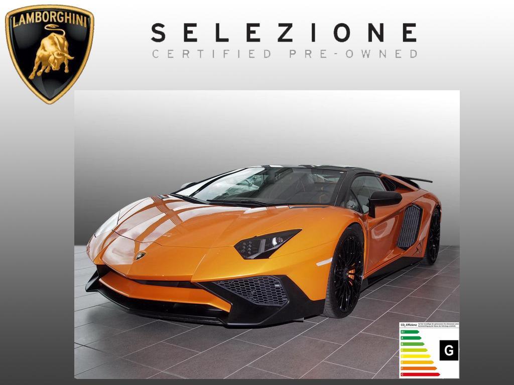 Lamborghini Aventador LP 750-4 Superveloce Roadster *1of500*, Jahr 2016, Benzin