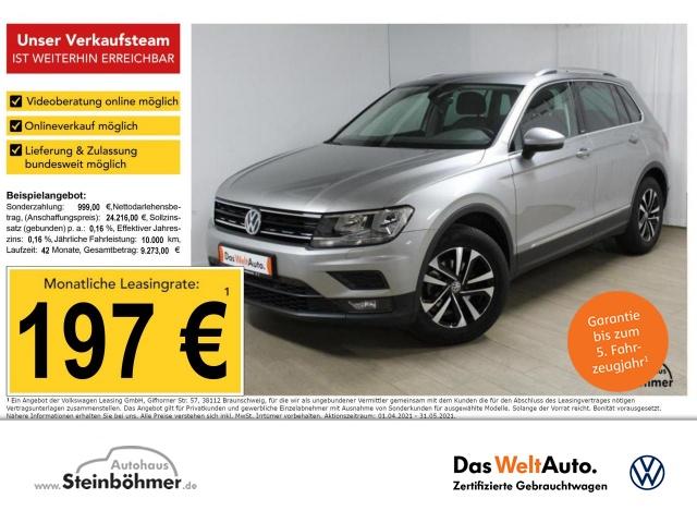 Volkswagen Tiguan UNITED 1.5TSI Navi AHK SHZ Bluetooth Klima, Jahr 2020, Benzin
