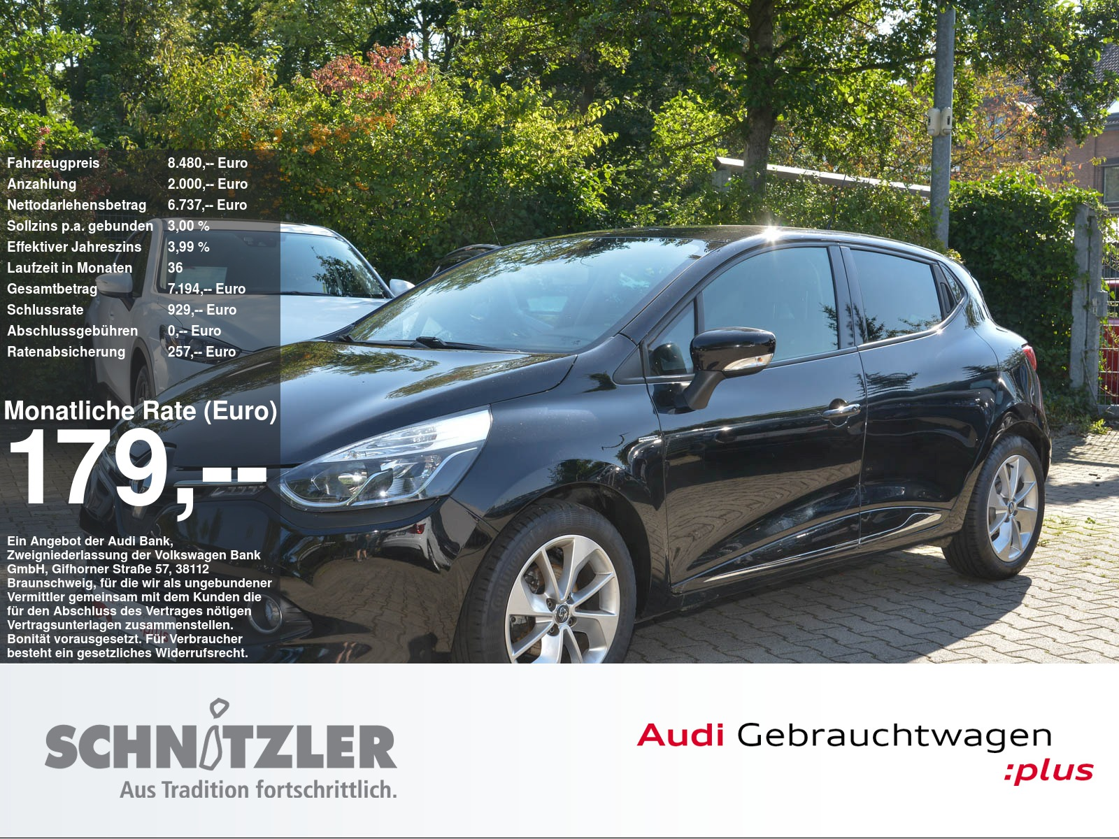 Renault Clio IV Limited Energy 0.9 TCe 90 eco² Navi/Bluetooth/Bass-Reflex/+++, Jahr 2016, Benzin
