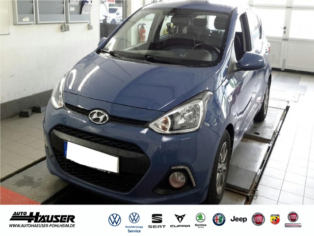 Hyundai i10 1.2 YES SILVER SITZHZG. KLIMA ALU PDC, Jahr 2015, Benzin