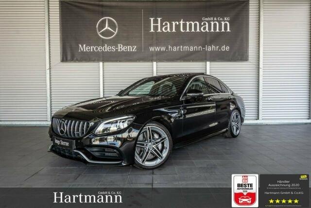 """Mercedes-Benz C 63 AMG Panorama 19"""" Fahrassistenz KeyGo Comand, Jahr 2019, Benzin"""