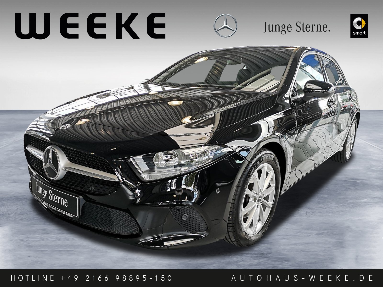 Mercedes-Benz A 160 PROGRESSIVE PREM-NAVI+KONNEKTIVITÄT+LICHTP, Jahr 2020, Benzin