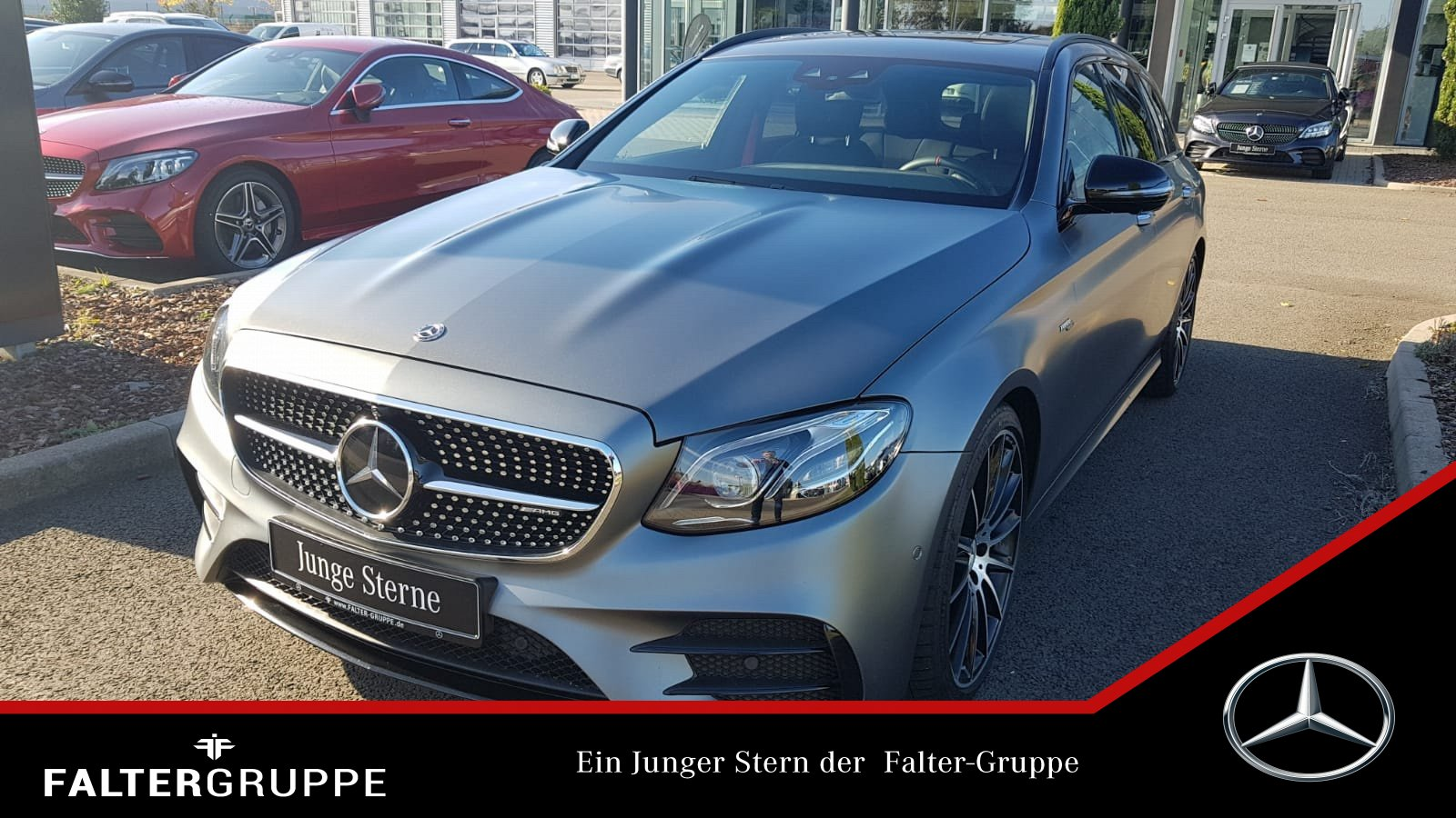 "Mercedes-Benz E 53 T MAGNO Night DISTRO KeyGo MLED 20""GSD 360°, Jahr 2018, petrol"