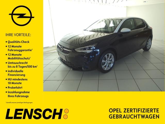 Opel Corsa F Elegance 1.2 KLIMAAUT+LED+PDCv/h+SITZHZG, Jahr 2020, Benzin