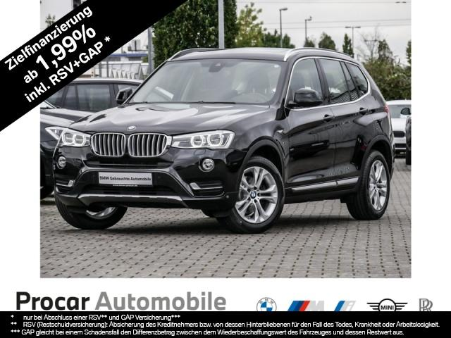 BMW X3 xDrive20d xLine Innovationsp. Navi Prof. Aut., Jahr 2017, Diesel