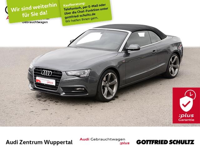 Audi A5 Cabrio 2.0TFSI 2X S-LINE LEDER AHK CONNECT XEN, Jahr 2016, Benzin