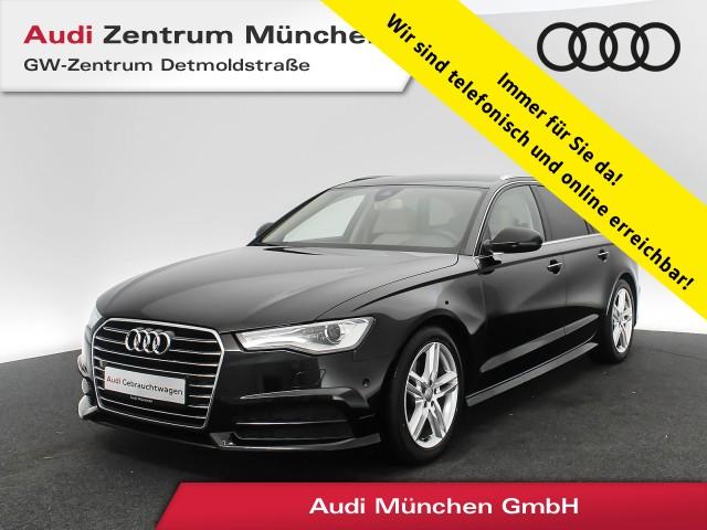 Audi A6 Avant 2.0 TDI AHK BOSE Luftfw. Leder Navi el.Sitze R-Kamera S tronic, Jahr 2017, Diesel