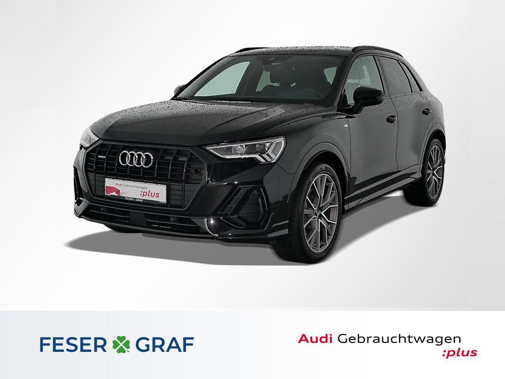 Audi Q3 40TFSI q. S line/LED/Navi/Virtual Cockp/20, Jahr 2020, Benzin