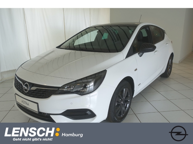 Opel Astra K Design&Tech 1.2 Turbo BLACK-ROOF-EDITION, Jahr 2021, Benzin