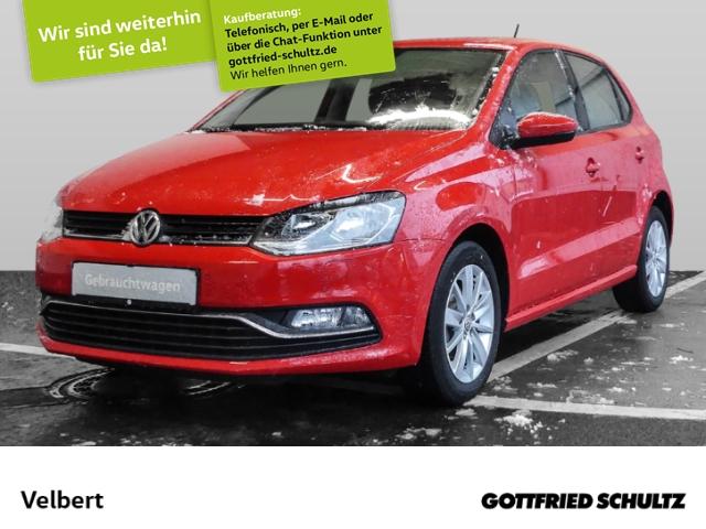 Volkswagen Polo 1.0 COMFORTLINE SHZ PDC LM-FELGEN, Jahr 2017, Benzin