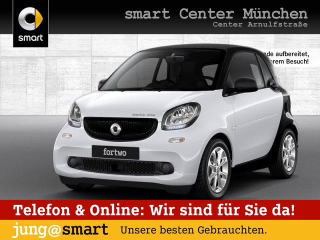 smart fortwo coupé 60kWed passion cool&Audio Tempom, Jahr 2017, Elektro