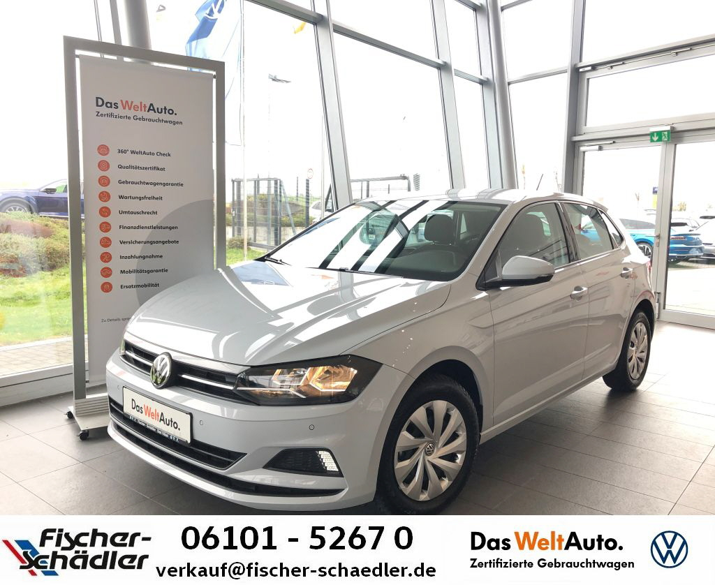 Volkswagen Polo 1.0TSI*DSG*Navi*ParkPilot*SitzHz.*Tel., Jahr 2019, Benzin