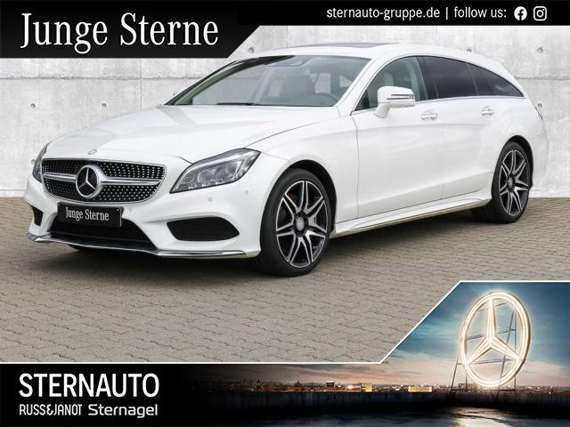 Mercedes-Benz CLS 500 SB 4M AMG+COMAND+Stdhzg+DISTR+SD+MULTIB, Jahr 2015, Benzin