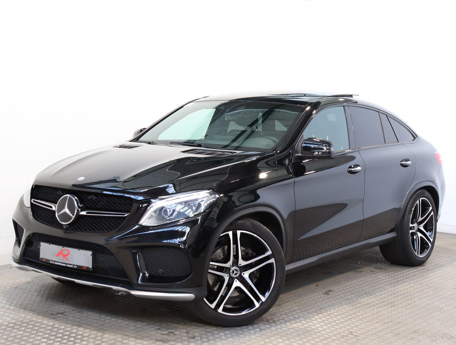 Mercedes-Benz GLE 43 AMG Coupe AIRMATIC,DISTRONIC,360GRAD,22Z., Jahr 2016, Benzin