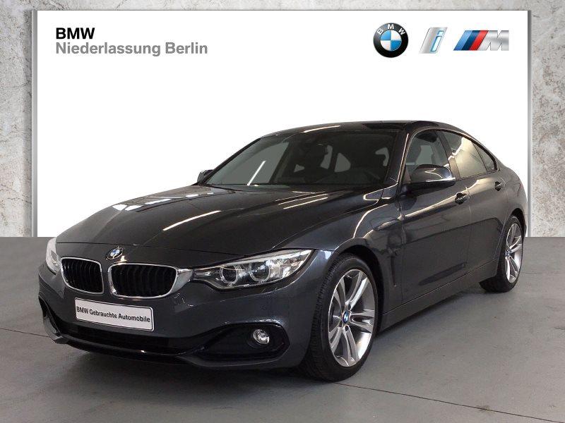 BMW 430i Gran Coupé EU6 Aut. SportLine Navi Head-Up, Jahr 2016, Benzin