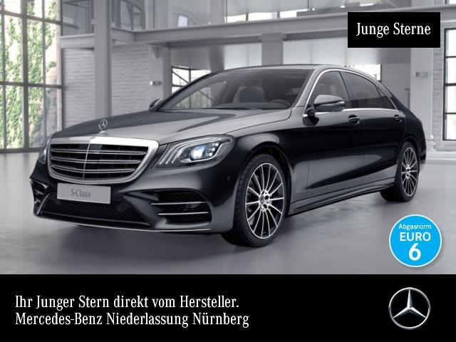 Mercedes-Benz S 560 L 4M AMG 360° Multibeam Burmester Distr., Jahr 2018, Benzin