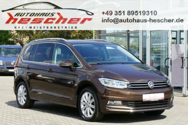 Volkswagen Touran 2,0 TDI DSG Highline *LED*NAVI*PANORAMA*, Jahr 2016, Diesel