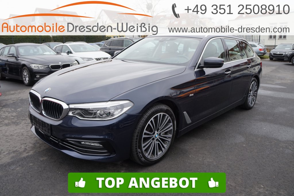 BMW 530 i Touring xDrive Sport Line*HeadUp*Navi Prof, Jahr 2017, Benzin