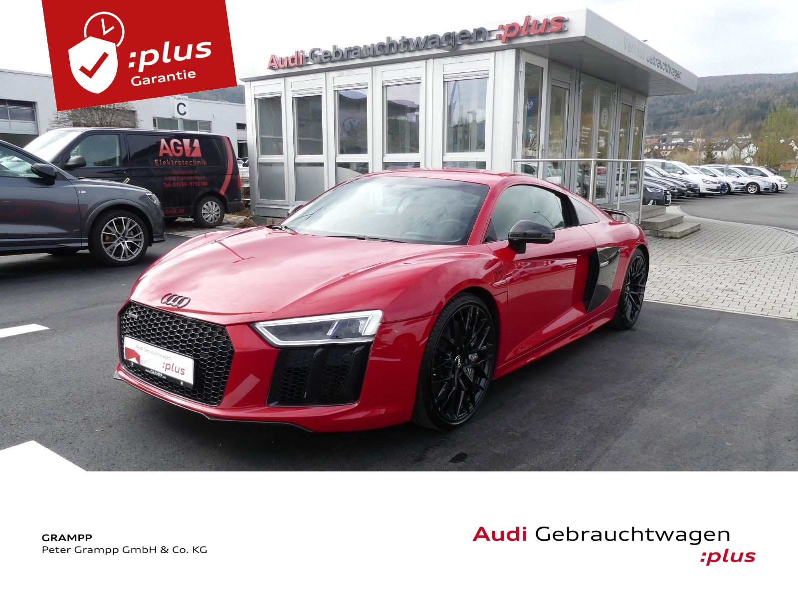 Audi R8 V10 5.2FSI +SPORTABGAS+LASER+MAGNETIC+B&O+, Jahr 2017, Benzin