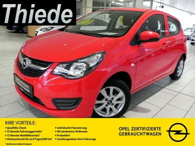 Opel Karl EDITION 1.0 KLIMA/ZV/TEMPOMAT/BC/ALU, Jahr 2015, Benzin