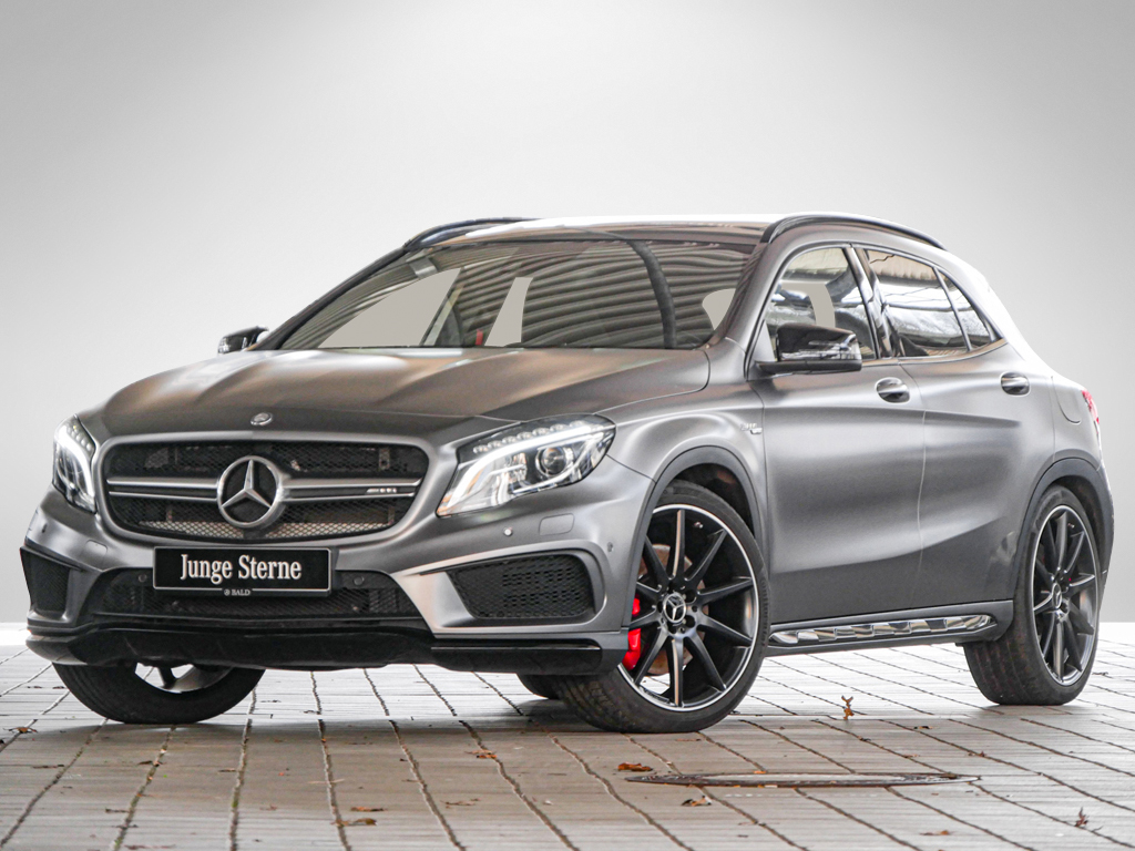 Mercedes-Benz GLA 45 AMG 4M Comand/ILS/Pano/Memo/HarmanK/Magno, Jahr 2014, Benzin