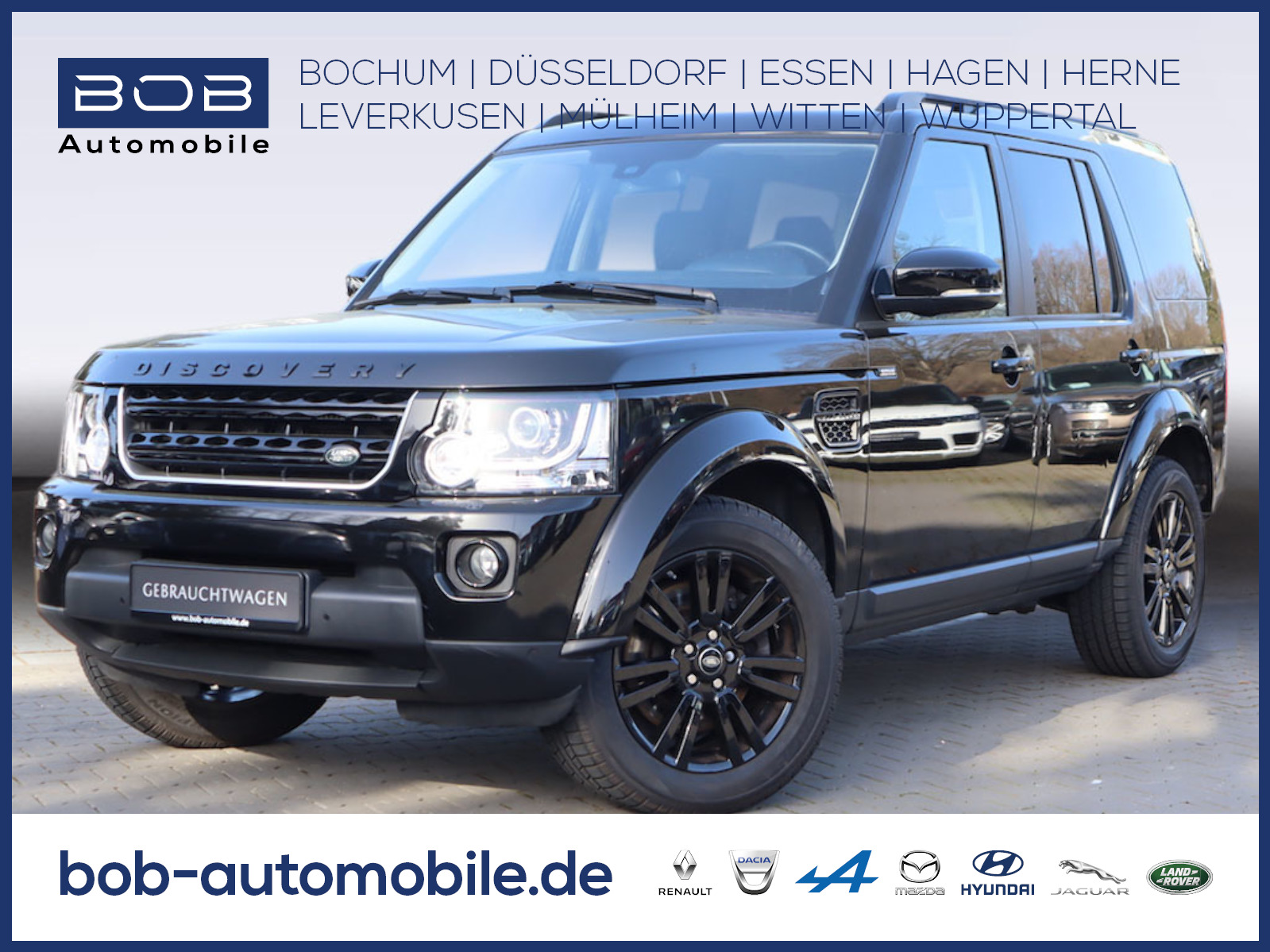 Land Rover Discovery SDV6 HSE STHZ KAMERA AHK, Jahr 2016, Diesel