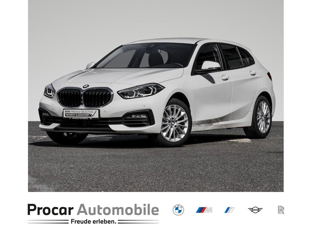 BMW 118i +ADVANTAGE+DAB+LED+WLAN+KOMFORTZG.+SITZHEIZUNG++, Jahr 2020, Benzin
